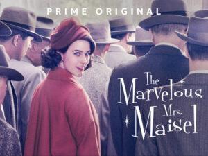 Удивительная миссис Мейзел (постер)