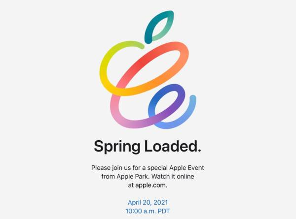 Презентация Apple - Spring Loaded