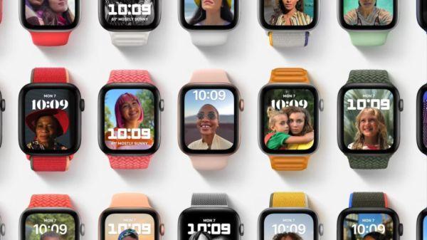 Новые циферблаты watchOS 8